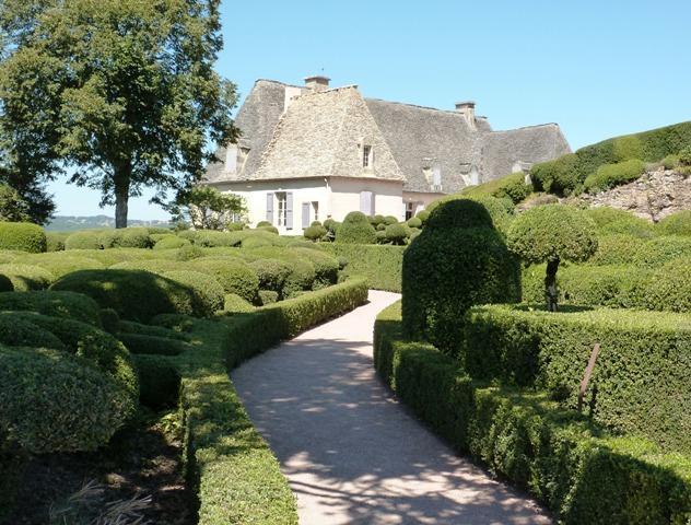 Les jardins suspendus de Marqueyssac - topiary gardens