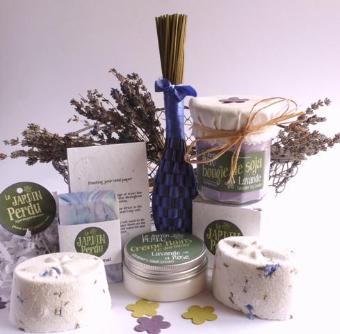 Heaven scent traditional french lavender gifts jardin perdu - Panier de basket junior ...