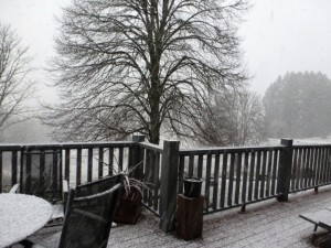 Snow, La Corrèze