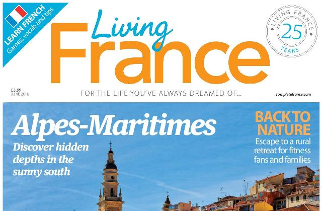 Living France June cover cropped