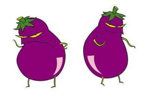 Evil aubergines