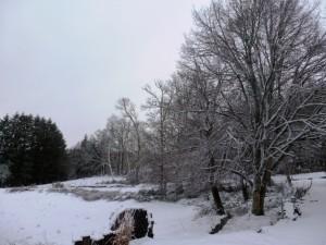 La Correze, France under the Snow 2013