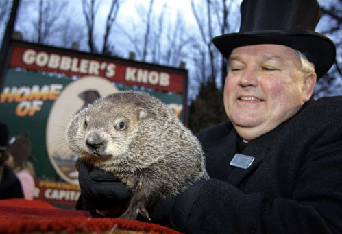 Pancakes, Chandeleur and Punxsutawney Phil