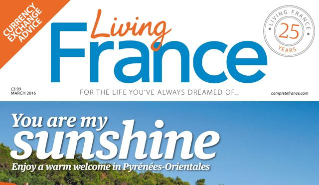 Living France March cover