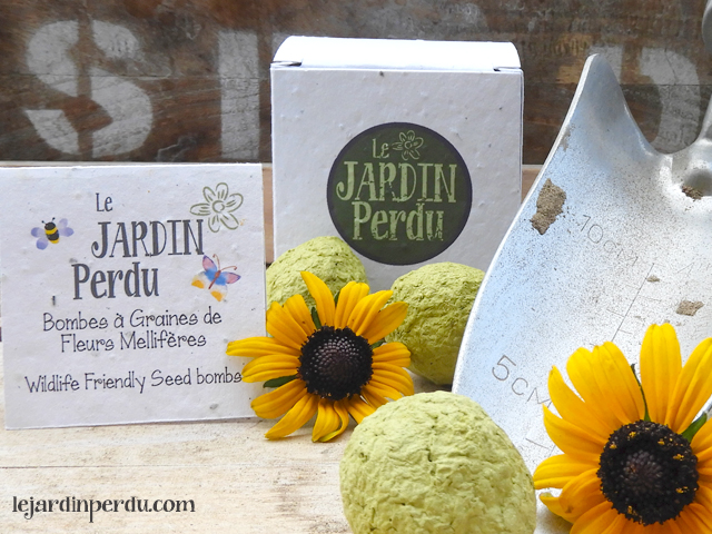 Flower seed bombs Le Jardin Perdu